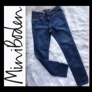 Mini Boden Girl's Straight Leg Jean